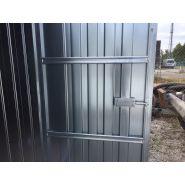 Container de stockage galva / démontable / 4m00 x 2m30 x 2m20 (h)