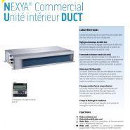 Nexya s4 e duct inverter commercial - climatiseur professionnel - olimpia splendid - excellentes prestations
