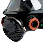 Masque complet premium réutilisable 3m™ 7907s - 3m france - harnais de tête à six point pour un ajustement sécurisé avec des boucles à ouverture facile