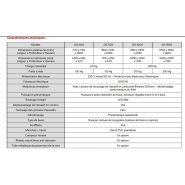 Ds 600 - cabine de sablage à dépression - arena - largeur x profondeur x hauteur : 600 x 450 x 570