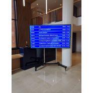 AFFICHEUR DYNAMIQUE   MONITEUR ÉCRAN LCD
