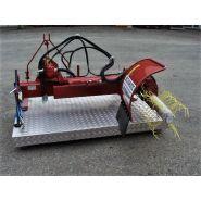 S92 a - épampreuse mécanique - bechamatic - largeur mini : 1,75m