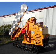 Taille-Haie hydraulique THA 700 - Kirogn - Hauteur de coupe verticale maxi 7.00 m