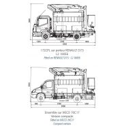 172 cpl camion nacelle - fe group - 7t