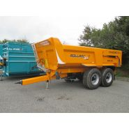 Rollroc 4800 - bennes tp - rolland - charge utile approximative : 16200 kg