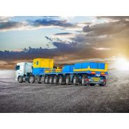 Cargomax - remorque plateau pour poids lourd - faymonville - 3 à 8 essieux