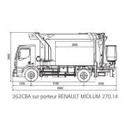 192 cba camion nacelle - fe group - 19.5 m