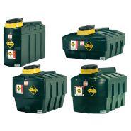 Cuves huiles usées - stockage intérieur ou extérieur - 400l à 2500l