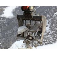 Mbi cr15 twin lock godets squelette pour minipelle - uniter 45 - 500 mm