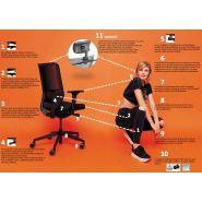 Fauteuil ergonomique sync2
