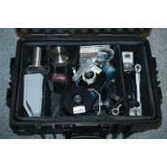Kit de préparation d'échantillons libs, xrf et xrd de terrain
