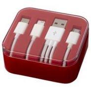 Cable de chargement et transfert de données 3 en 1