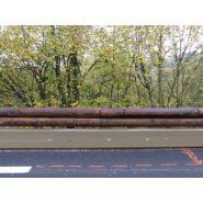 T32 – n2w2 -asi b - glissière de sécurité - tertu - bois-métal, longueur 2 m