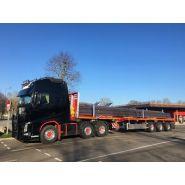 Telemax - remorque plateau pour poids lourd - faymonville - 2 à 6 essieux