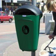 Super trimline - poubelle publique - glasdon - 50 litres