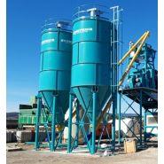 Cs-50 - silo à ciment - constmach - capacité de 50 tonnes