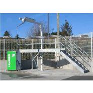 Stations de lavage round - oki - débit 11 l/min - pression 140 bars