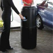 Auto mate - poubelle publique - glasdon - 85 litres