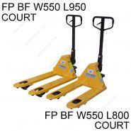 Fpbf25 l950 - transpalette manuel courte - ferplast - 2500 kg