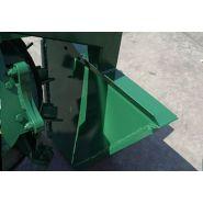 Sm-s 3 cureuses de fossés et rigoleuses - sovema - poids 315 à 731 kg