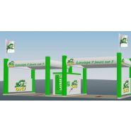 Stations de lavage Platine - Oki - 2 à 3 pistes