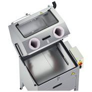 Fontaine de lavage fermée avec gants - capacité lavage : 700x660x560 mm