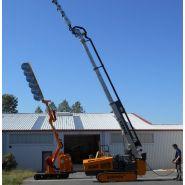 Taille-haie hydraulique tha 1010 - kirogn - hauteur de coupe horizontale maxi 7.30 m, verticale maxi 10.10 m