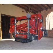 Lightlift 15.70 - nacelle araignée - hinowa s.p.a. - capacité nacelle chenillée 230 kg