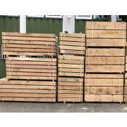 Trav001100200 - traverse paysagère en chêne - atelier du bois massif - longueur : 200 cm