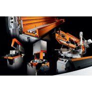 Radial m 10 - tronçonneuse à fraise-scie - kasto france - capacité de coupe : jusqu'à 170 x 90 mm