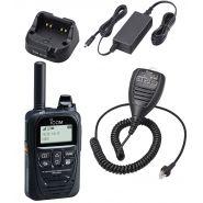 Communication innovante icom - portatif radio lte (4g) / 3g ip503h
