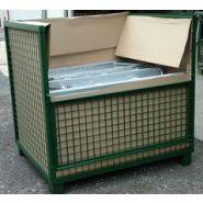 Racks de stockage grillages - millet-culinor - dimensions:  l. 1.20 x 0.81 x h. 0.81m - h
