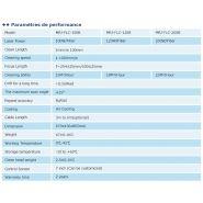 Mrj-flc-200b - décapeur laser - chengdu mrj-laser technology co., ltd - puissance 200w
