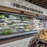 Vitrine réfrigérée fruits et legumes