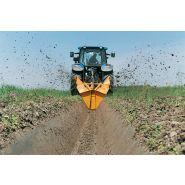 Cureuses de fossés et rigoleuses biroue vergers et rizières - dondi - vitesse d'avancement jusqu'à 1.2 km/h