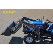 Fl-185 - chargeur frontal pour tracteur compact - padagas - poids : 280kg