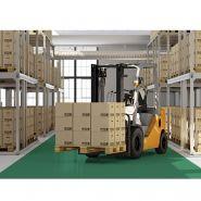 Dalles pvc fortelock - tous types de sol - resistance 50 tonnes/m²