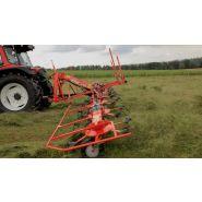Gf 8700 faneuse - kuhn - largeur de travail 8,70 m