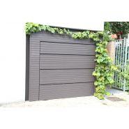 Porte de garage sectionnelle affleurante