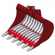 Mbi ar50 fast lock godet squelette pour minipelle 4-6t - uniter 45 - 1000 mm