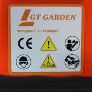Tronçonneuse - gt garden - 52 cm3, 3 cv, guide 45 cm