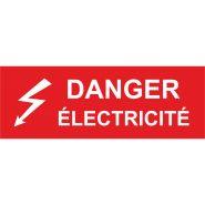 Etiquette de sécurite danger pvc (pictogramme)