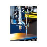 Combirex dx - marquages et découpes à laser - esab - peut accueillir jusqu'à 4 stations d'oxycoupage