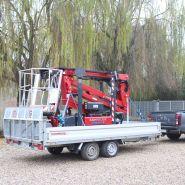 Lightlift 13.70 - nacelle araignée  - hinowa s.p.a. - capacité nacelle chenillée 230 kg