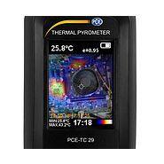 Caméra infrarouge - pce - fréquence d'image 6 hz - pce-tc 29