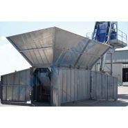Fivetech 500 s centrale à béton - euromecc - mobile - 30 m3/h