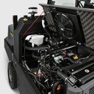 Km 150/500 r d - balayeuse de voirie autoportée - kärcher - 500 litre