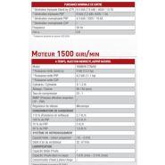 Ge 15 ysxc groupe électrogène - mosa - génération triphasée 14 kva