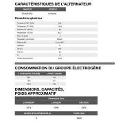 At-1015 50 hz triphasé groupe électrogène en container - inmesol - 1.009,7 kva