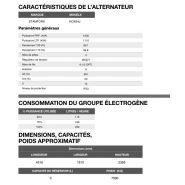 At-1120 50 hz triphasé groupe électrogène en container - inmesol - 1.103,2 kva